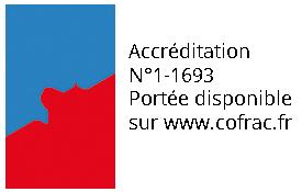 Accréditation cofrac N°1-1693